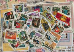 Penrhyn Briefmarken-100 Verschiedene Marken - Penrhyn