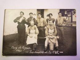 GP 2019 - 1405  CAMP De CAZAUX  (Gironde)  :  Les CUISTOTS De La CHR  1932 - Carte Photo   XXX - France