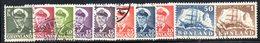 APR469 - GROENLANDIA 1950 , Unificato Serietta N. 19/25  Usata  (2380A) - Isole Faroer