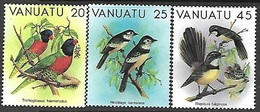 Vanuatu  1982   Sc#320-2  Birds  MNH   2016 Scott Value $3.55 - Vanuatu (1980-...)