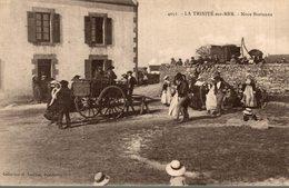 RARE  Noce Bretonne La Trinite Sur Mer 4051 Collection Laurent Port Louis - La Trinite Sur Mer