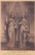 CARTOLINA - GENOVA - VAL POLCEVERA - S.S.CORNELIO E CIPRIANO M.M. PATRONI DELLA CHIESA OMONIMA - Genova