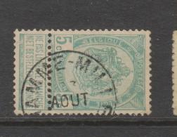 COB 56 Oblitération Centrale HAMME-MILLE - 1893-1907 Armoiries