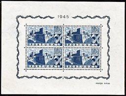 !■■■■■ds■■ Portugal S/S 1946 AF#10* Castles (b0010-) - Blocks & Sheetlets