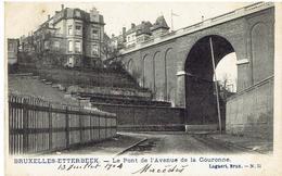 BRUXELLES - ETTERBEEK - Le Pont De L' Avenue De La Couronne - Lagaert Brux. N° 51 - Etterbeek