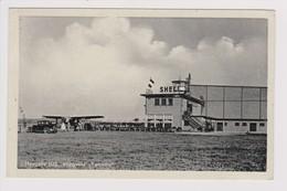 Vintage Rppc KLM K.L.M Royal Dutch Airlines Fokker F-7 @ Vliegveld Twente Airport - 1919-1938: Between Wars