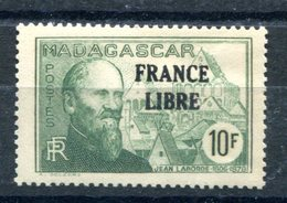 Madagascar - Surcharge France Libre - Maury 269 - Neuf Sans Charnière - T 882 - Madagascar (1889-1960)