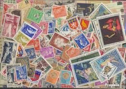 Frankreich Briefmarken-500 Verschiedene Marken - Sammlungen