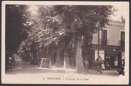 CPA - Algerie, BOUFARIK, L'Avenue De La Gare - Otras Ciudades
