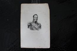 DH/ Adolphe Édouard Casimir Joseph Mortier, Duc De Trévise, Né Au Cateau-Cambrésis Le 13 Février 1768 / 16x24 Cm - Documents Historiques