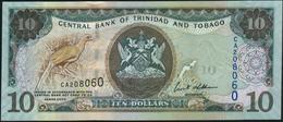 TRINIDAD & TOBAGO - 10 Dollars 2006 {sign. Ewart S.Williams} UNC P.48 - Trinidad & Tobago