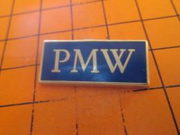 812e Pins Pin's / Rare & Belle Qualité  THEME AUTOMOBILES / GROSS FOITURE ALLEMANDE LA PMW - BMW