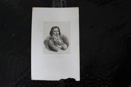 DH / Camille Desmoulins, Né Le 2 Mars 1760 à Guise Et Mort Guillotiné Le 5 Avril 1794 à Paris / 16x24 Cm - Documents Historiques
