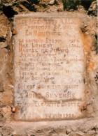 Belgique - Spy - Grotte De Spy - Pierre Commémorative - Carte Neuve - Voir Scans Recto-Verso - Belgio