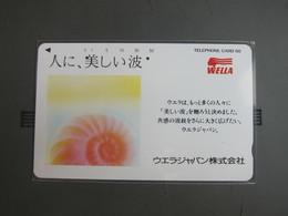110-500 Wella Advertisement,Shell ,used - Japón