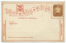 MEXICO : POSTAL STATIONERY / SERVICIO POSTAL / TRES CENTAVOS - Mexico