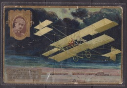 Glenn Curtiss - FRANCE - Pionnier De L'aviation - Collection Lefèvre Utile - 1908 - Airmen, Fliers