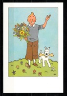 CP Tintin : Edition Hergé/moulinsart N° 30183 ( Voir Photos Recto-Verso ) - Bandes Dessinées