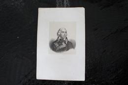 DH / Jean-Charles Pichegru, Né Aux Planches-près-Arbois Le 16 Février 1761 Et Mort à Paris Le 6 Avril 1804  /16x24 Cm - Documents Historiques