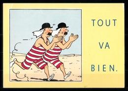 CP Tintin : Edition Hergé - Tintin Licensing 1992 - Bandes Dessinées