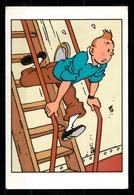 CP Tintin : Edition Hergé Moulinsart Sundancer N° 025 - Bandes Dessinées