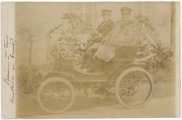 BESANCON - Carte Photo - Couple En Automobile - Besancon