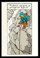 CP Tintin : Edition Hergé Moulinsart A L'occasion De L'exposition Tintin Au Tibet N° 059 - Bandes Dessinées