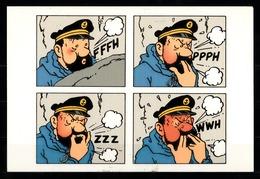 CP Tintin : Edition Hergé Moulinsart A L'occasion De L'exposition Tintin Au Tibet N° 067 - Bandes Dessinées