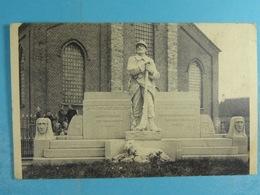 Kemzeke Standbeeld Der Oorlogsgesneuvelden 1914-18 - Stekene