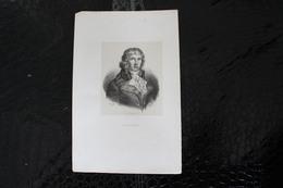 DH / Louis Antoine Léon De Saint-Just, Né Le 25 Août 1767 à Decize Et Mort Guillotiné à  Paris / 16x24 Cm - Documents Historiques