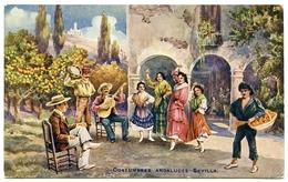 ADVERTISING : ROBERTSON'S GOLDEN SHRED MARMALADE - SEVILLA - COSTUMBRES ANDALUCES / ADDRESS - WALTHAM, GRIMSBY - Advertising