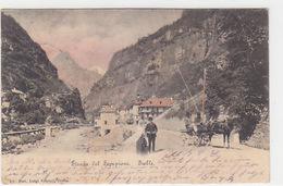 Iselle - Strada Del Sempione - Animata - 1904            (A-80-170615) - Verbania