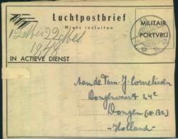 1948, Military Letter Via Airmail - Nederlands-Indië