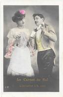LE CARNET DE BAL - L'INVITATION A LA VALSE N°1 E.P. - Fancy Cards