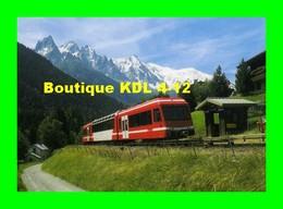RU 0940 - Automotrice Z 851 En Gare - LA JOUX Commune De CHAMONIX MONT-BLANC - Haute Savoie - SNCF - Trains