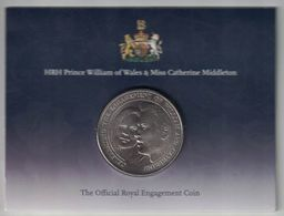 Alderney 5 Pounds – 2010 (William & Catherine) - Monnaies Régionales