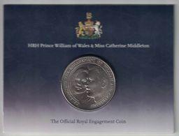 Alderney 5 Pounds – 2010 (William & Catherine) - Regional Coins