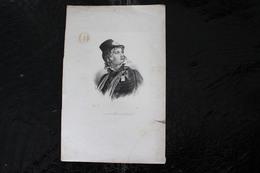 DH / La Rochejaquelein, Né Le 30 Août 1772 - 1794, à La Durbelière, Près De Châtillon-sur-Sèvre (Poitou) / 16x24 Cm - Documents Historiques