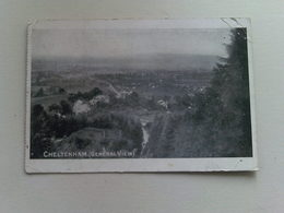 Black & White  Postcard -  Cheltenham ( General View) - Cheltenham