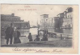 Livorno - La Bocca Del Vecchio Porto - 1901            (A-80-170615) - Livorno