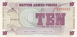 10 Ten New Pence UNC - Forze Armate Britanniche & Docuementi Speciali