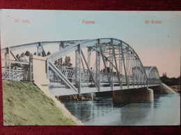ROMANIA - FAGARAS / HUNGARY - FOGARAS / BRIDGE OF OLT / 1916 - Roemenië