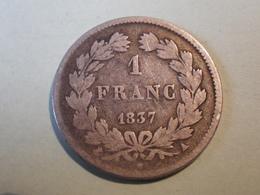 1 Franc 1837 A (louis Philippe) - Francia