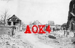 59 Nord RADINGHEM EN WEPPES Eglise Cimetiere Occupation Allemande 1916 1917 Nordfrankreich Fromelles Haubourdin - Autres Communes