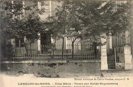 D34  LAMALOU LES BAINS  Villa Mècle Tenue Par Alcide Hugounnenq - Lamalou Les Bains