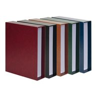 Lindner 3531-S Slipcase For Ring Binder PUBLICA M, Black - Large Format, Black Pages