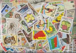 Burkina Faso Briefmarken-100 Verschiedene Marken - Burkina Faso (1984-...)