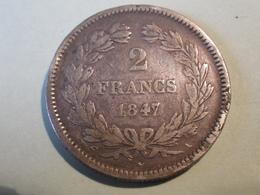 2 Francs 1847 A (louis Philippe) - Francia