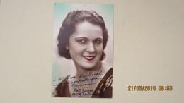 LA BEGUM ( YVETTE LABROUSSE MISS FRANCE 1930 ) / LOT C.P. ET DIVERS DONT ENVOIS ... - Autographs