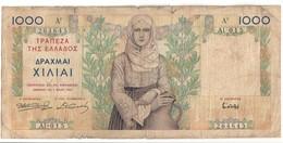 Greece 1000 Drachmai 1935 - Greece